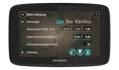 TomTom LKW - Navigationsgerät »GO Professional 520« kaufen