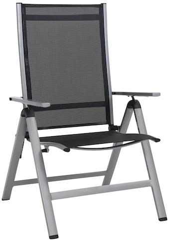 Greemotion Gartenstuhl »Monza Comfort XL«, Alu/Textil, verstellbar, klappbar,... kaufen