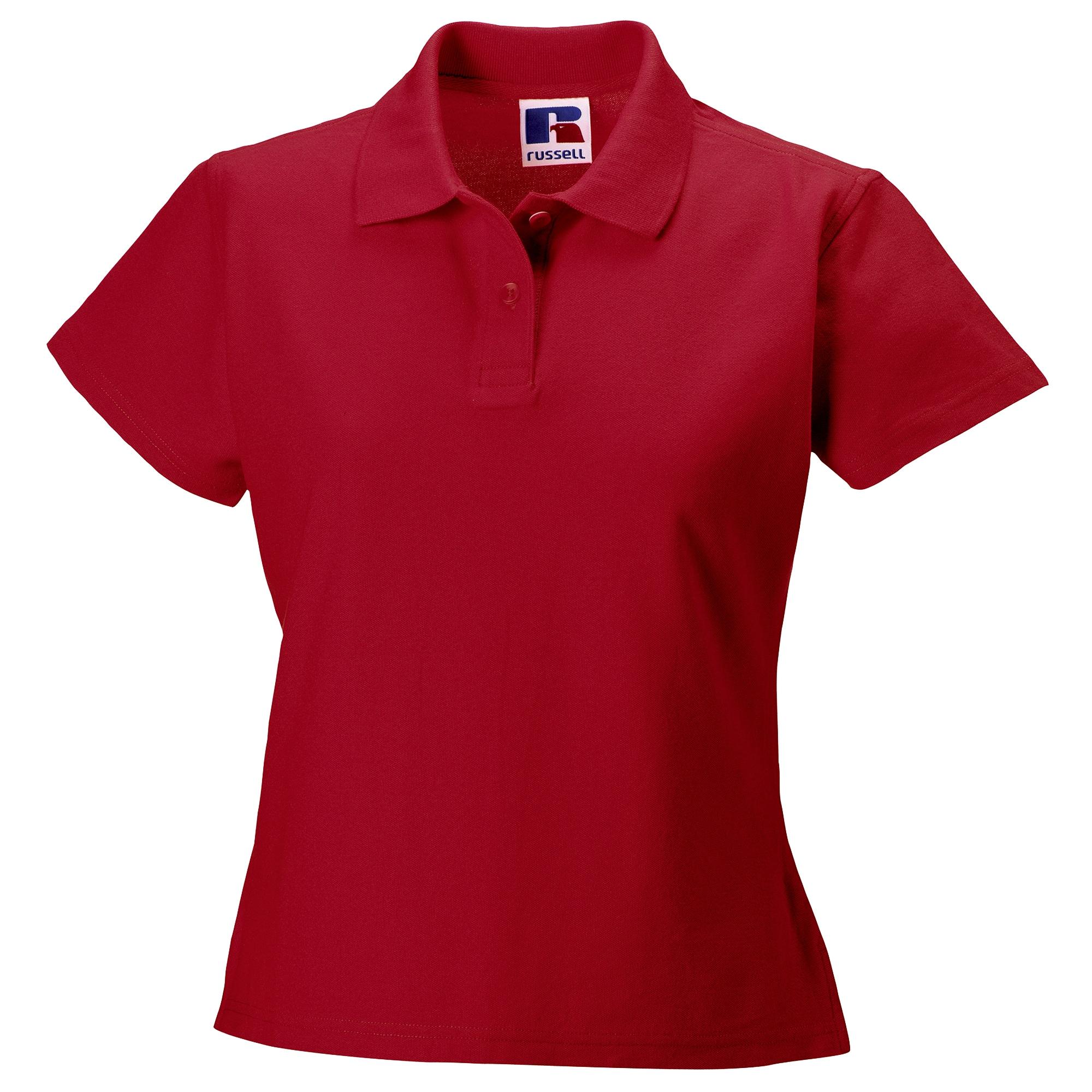 russell -  Poloshirt Damen Polo Shirt Europe Ultimate Klassik Kurzarm
