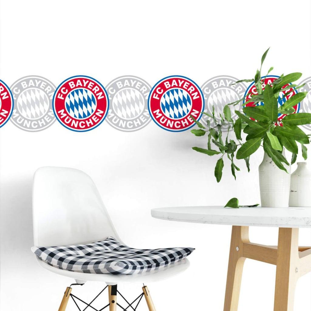 Wall-Art Wandtattoo »FC Bayern München Bordüre«