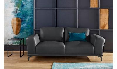 W.SCHILLIG 2-Sitzer »montanaa«, mit Metallfüßen in Schwarz pulverbeschichtet, Breite... kaufen