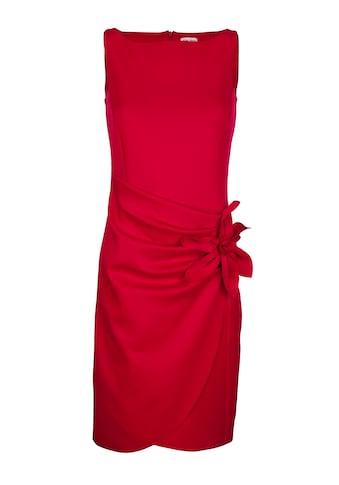 Alba Moda Kleid mit Blumen- Applikation kaufen