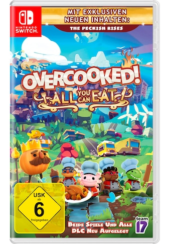 Nintendo Switch Spiel »Overcooked All You Can Eat«, Nintendo Switch kaufen
