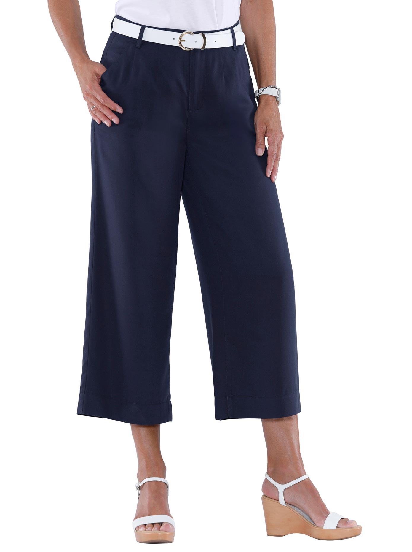 Casual Looks 7/8-Hose mit extraweit geschnittene Beine | Bekleidung > Hosen > 7/8-Hosen | Casual Looks