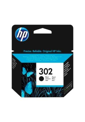 HP Tintenpatrone »hp 302, original, F6U66AE, schwarz« kaufen
