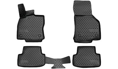WALSER Passform-Fußmatten »XTR«, VW, Golf VII, Kombi-Schrägheck, (4 St., 2... kaufen
