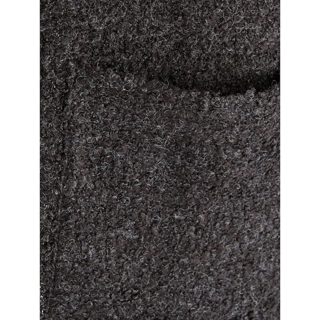 m. collection Jackenblazer, in Bouclé-Qualität