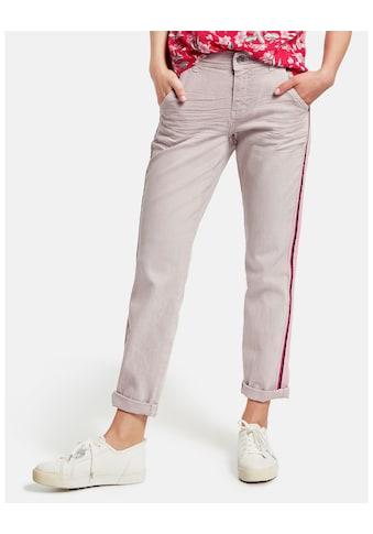 Taifun Hose Jeans verkürzt »7/8 Jeans mit Kontrast - Tape Boyfriend TS« kaufen