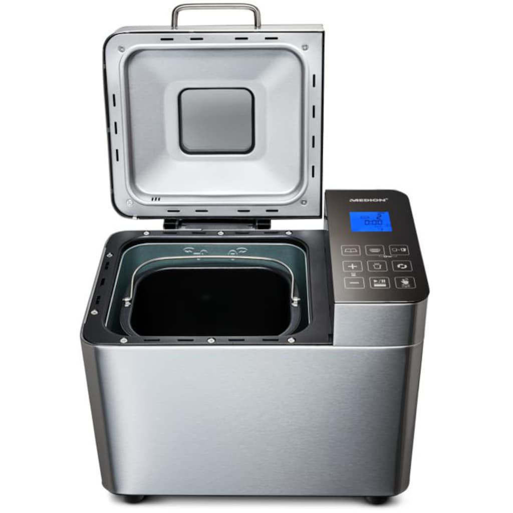 Medion® Brotbackautomat »MD 10241«, 25 Programme, 600 W, 25 Programme, Edelstahlgehäuse
