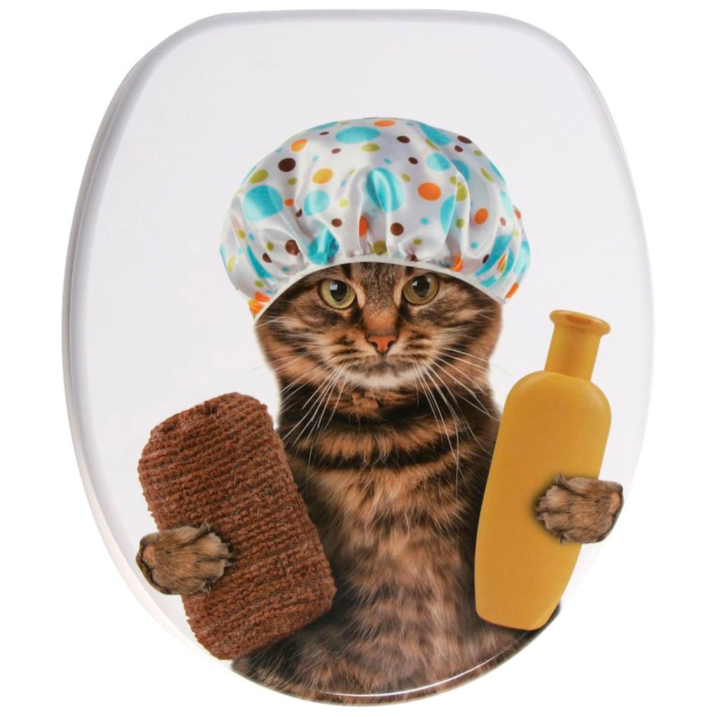 Sanilo WC-Sitz »Shower Cat«, mit Absenkautomatik