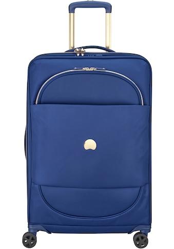 """Delsey Weichgepäck - Trolley """"Montrouge, 69 cm, blue"""", 4 Rollen kaufen"""