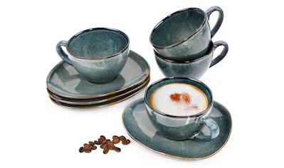 SÄNGER Tasse »Darwin«, (8 tlg., Teetassen Darwin aus Porzellan 8 teilig) kaufen