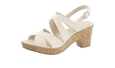 Sandalette mit Korksohle kaufen