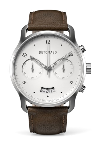 DETOMASO Chronograph »SORPASSO QUARZUHR SILVER WHITE« kaufen