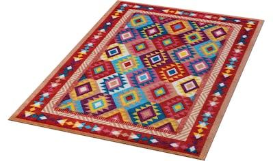 wash+dry by Kleen-Tex Teppich »Santa Fe«, rechteckig, 9 mm Höhe, In- und Outdoor geeignet, waschbar, Wohnzimmer kaufen