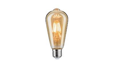 Paulmann LED-Leuchtmittel »E27 Goldlicht dimmbar Vintage Kolben 6W«, 1 St., Extra-Warmweiß kaufen