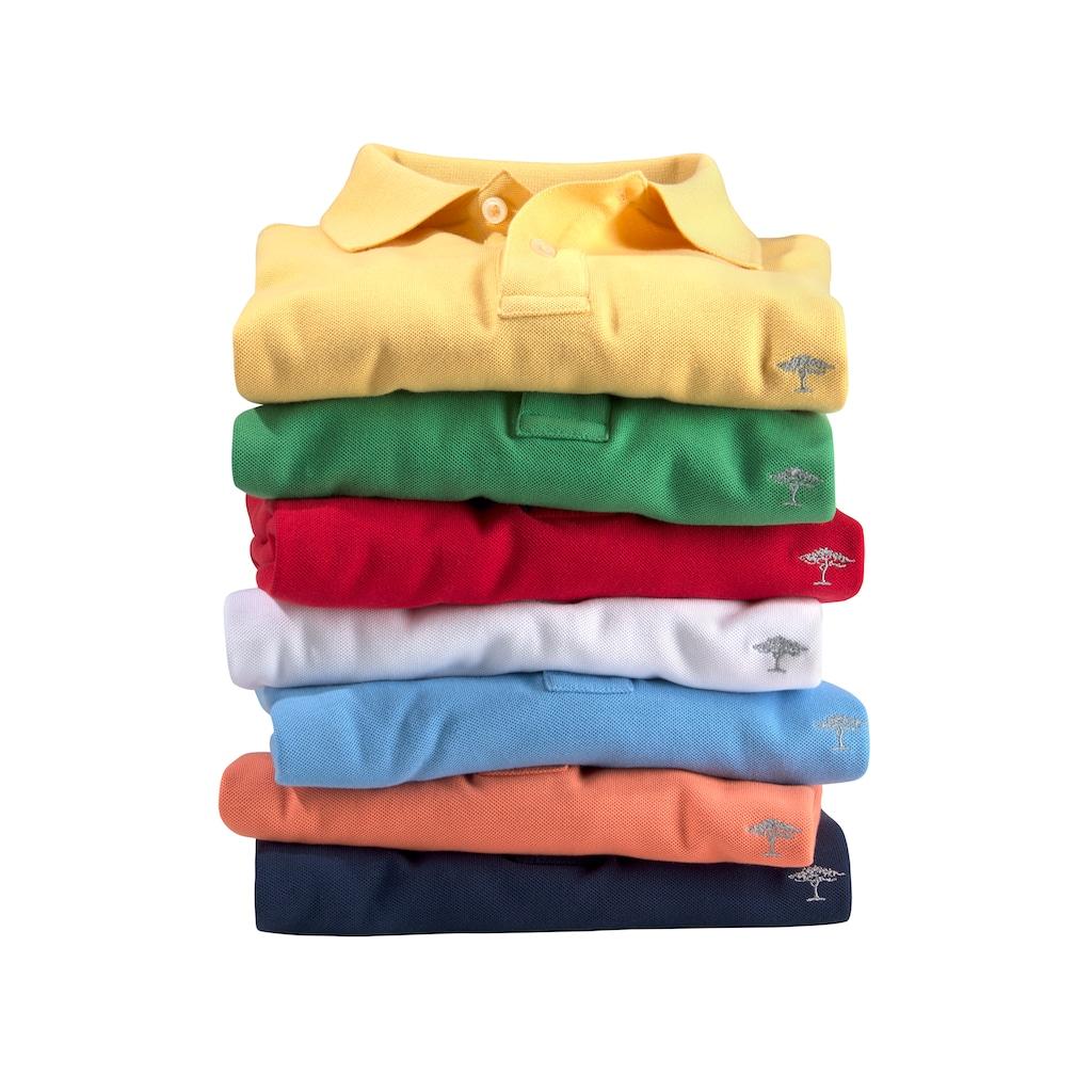 FYNCH-HATTON Poloshirt »SUPIMA COTTON«, unifarben