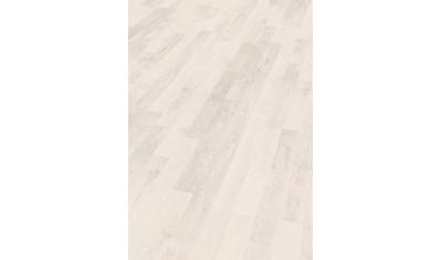 EGGER Packung: Laminat »EHL151 Ascona Wood weiss«, mit Klick - Verbindung, 1292 x 192, Stärke: 7 mm kaufen