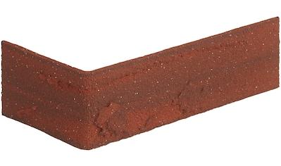 ELASTOLITH Verblender »Colorado Eckverblender«, rot, für den Außen -  und Innenbereich 2 Lfm kaufen