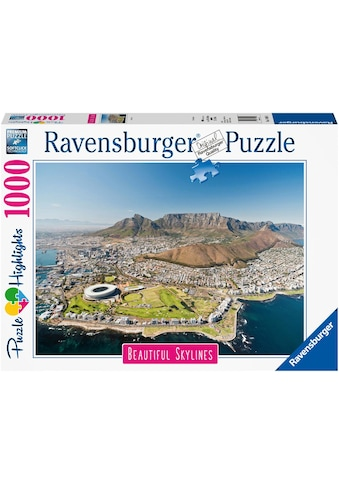 """Ravensburger Puzzle """"Puzzle Highlights Beautiful Skylines  -  Cape Town"""" kaufen"""