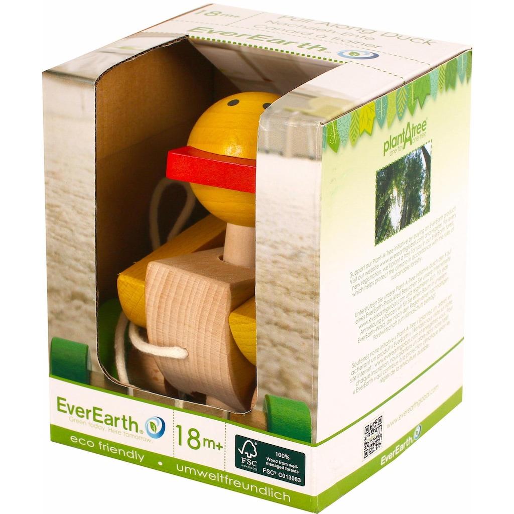 EverEarth® Nachziehtier »Nachzieh-Ente«, FSC®-Holz aus gewissenhaft bewirtschafteten Wäldern
