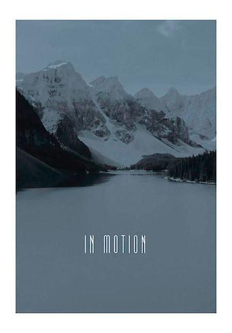 Komar Poster »Word Lake In Motion Steel«, Natur, Höhe: 70cm kaufen