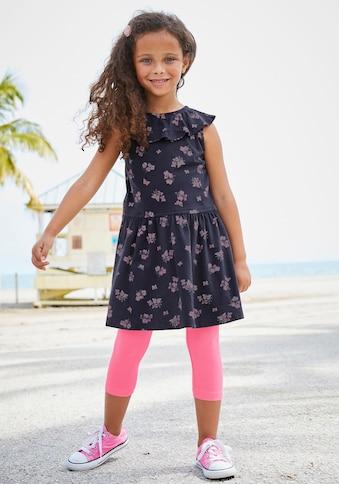 KIDSWORLD Jerseykleid, mit niedlichem Blumenmuster kaufen