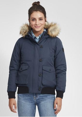 OXMO Winterjacke »Acila«, Wattierte Winterjacke mit Kapuze und abnehmbarem... kaufen