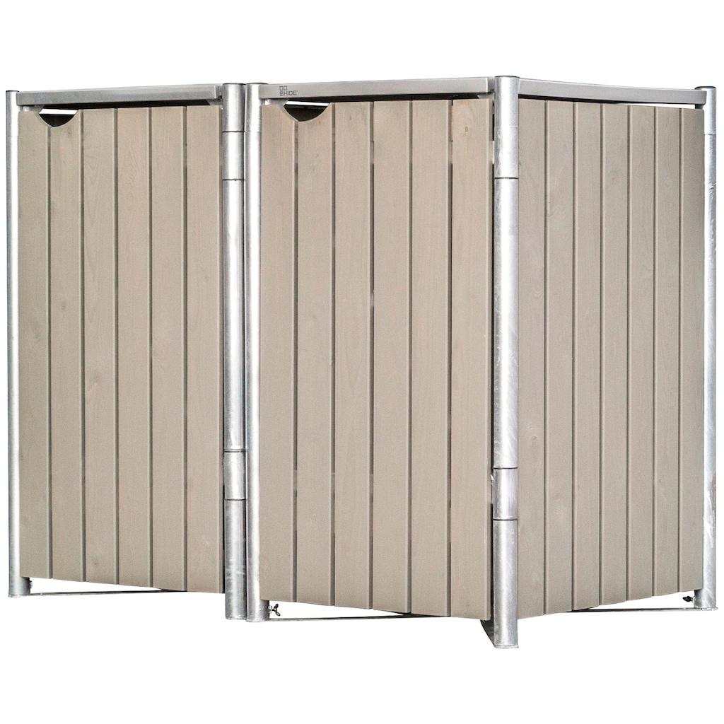 Hide Mülltonnenbox, BxTxH: 191x108x132 cm