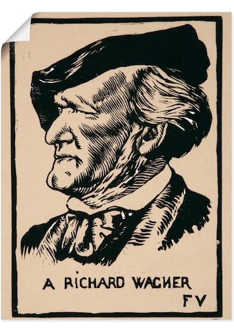 Artland Wandbild »Ein Richard Wagner. 1891« kaufen