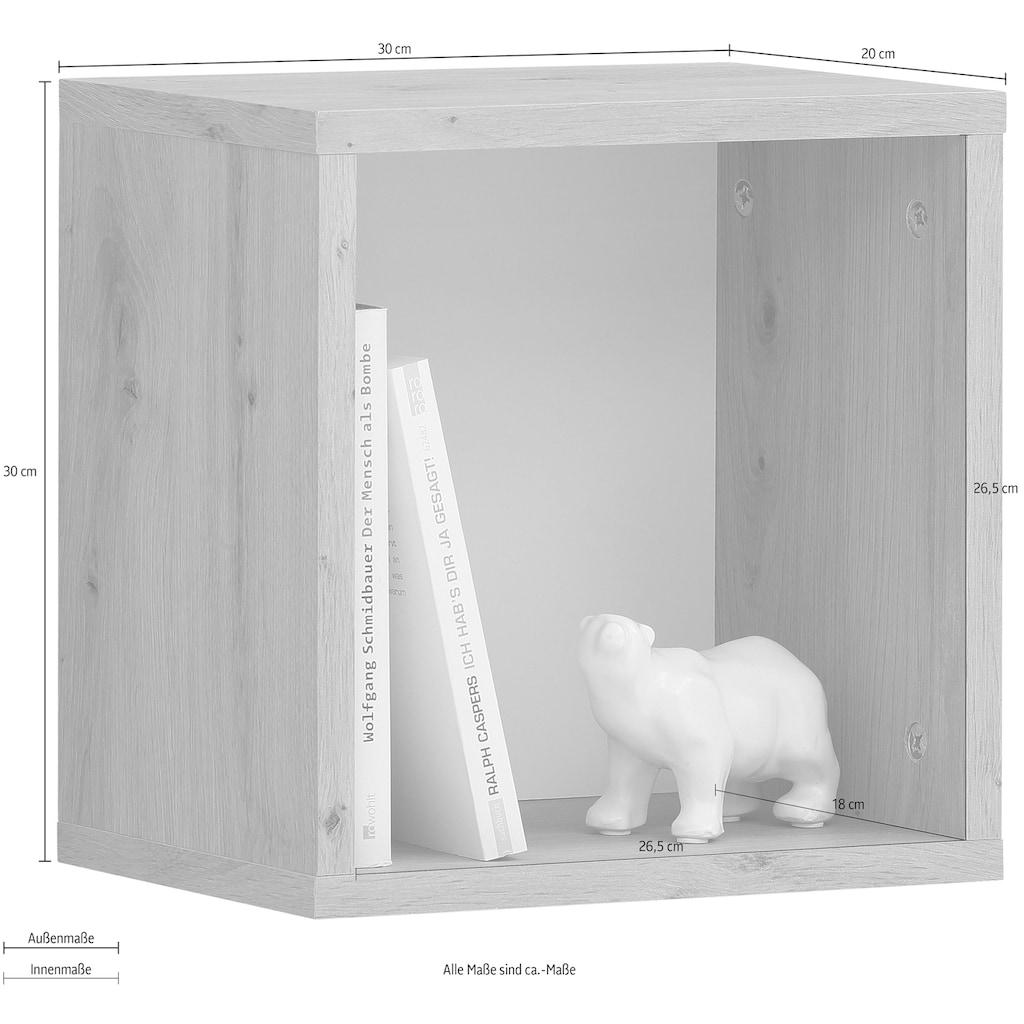 my home Wandregal »Legro«, dekorativ, pflegeleichte Oberfläche, Breite 30 cm