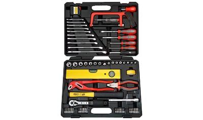 FAMEX Werkzeugkoffer »145 - FX - 55«, 67 tlg. Universal - Kofferset kaufen
