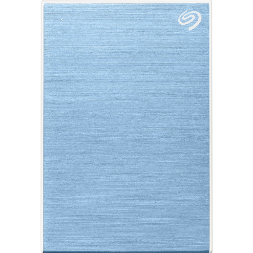 """Seagate externe HDD-Festplatte »One Touch Portable Drive 2TB - Light Blue«, 2,5 """", Inklusive 2 Jahre Rescue Data Recovery Services"""