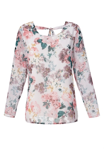 Aniston CASUAL Schlupfbluse, mit romantischem Blumendruck - NEUE KOLLEKTION kaufen