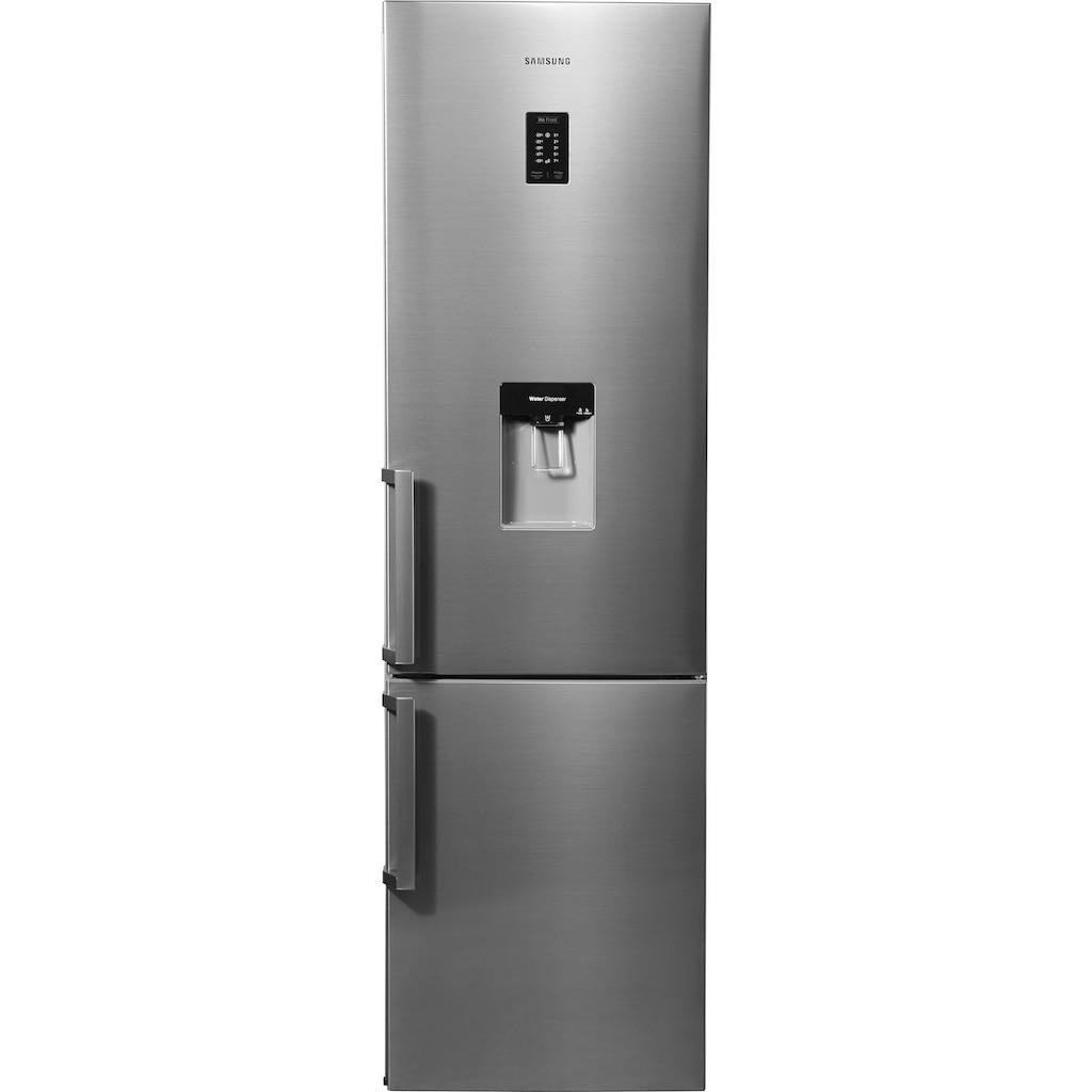 Samsung Kühl-/Gefrierkombination »RB37J5925/EF«, RB5000, RB37J5925, 201 cm hoch, 59,5 cm breit, Wasserspender