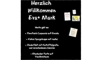"""Memoboard """"Schwarz"""" kaufen"""