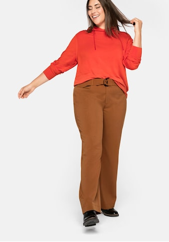 Sheego Stretch-Hose, mit Gürtel kaufen