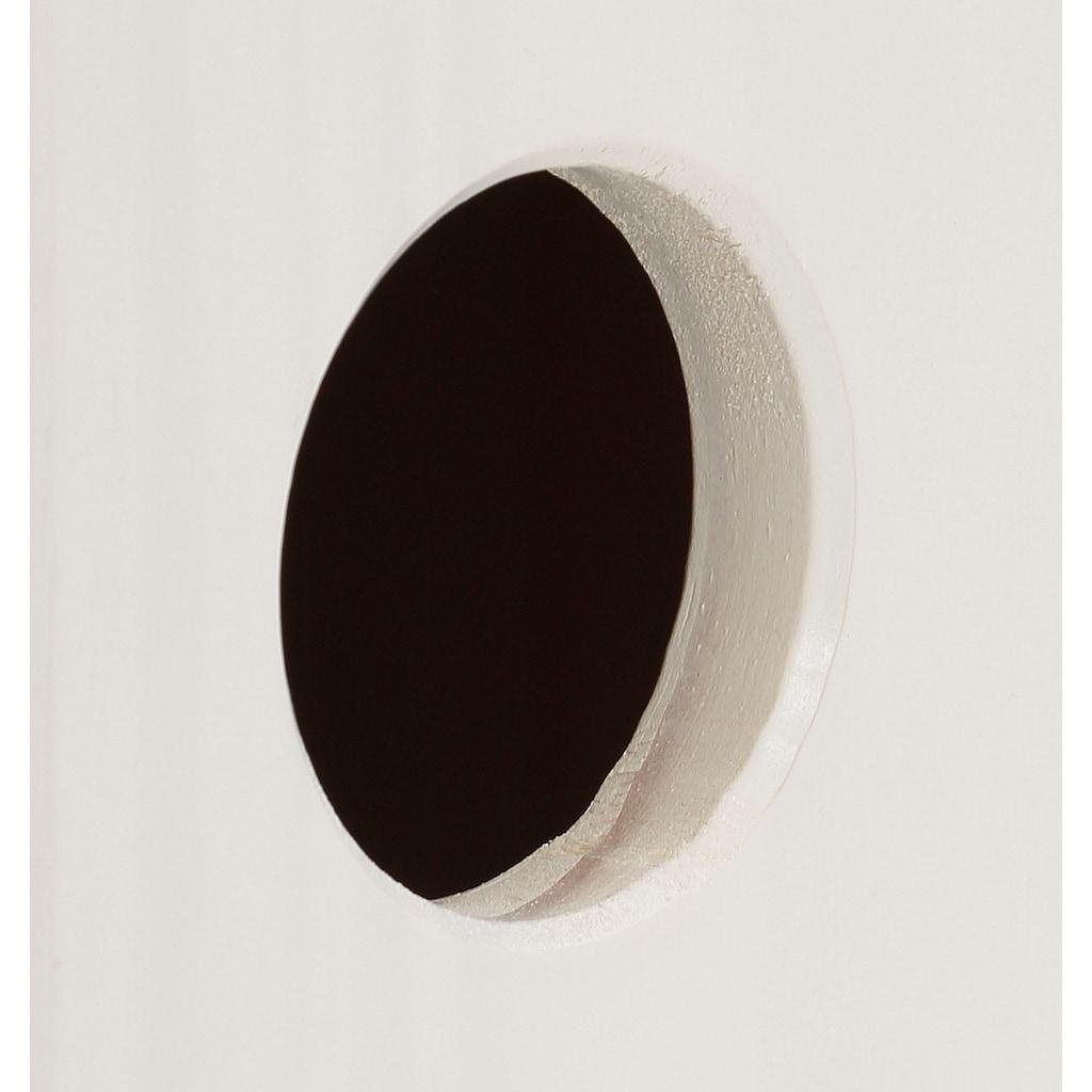 Lüttenhütt Stauraumschrank »Alpi«, aus massivem Kiefernholz, mit Einlegeböden hinter den Türen, in verschiedenen Farbvarianten enthältlich, Höhe 133 cm
