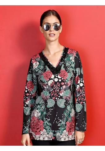 Laura Kent Tunika im floralen Dessin kaufen