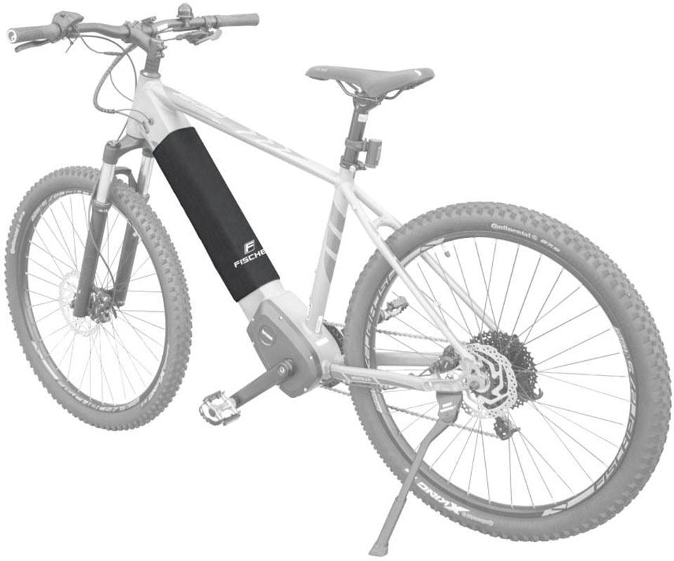 FISCHER Fahrräder Akku-Schutzhülle schwarz Fischer Fahrraeder