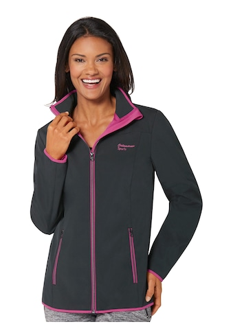 Softshell - Jacke mit Kinnschutz kaufen