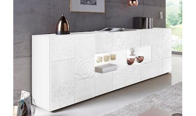 LC Sideboard »Miro«, Breite 241 cm mit dekorativem Siebdruck kaufen