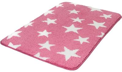 MEUSCH Badematte »Stars«, Höhe 15 mm, rutschhemmend beschichtet, fußbodenheizungsgeeignet kaufen