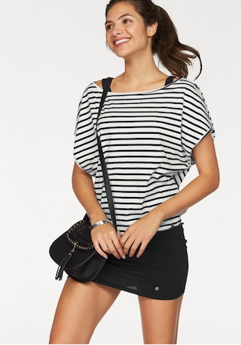 AJC Jerseykleid, (Set, 2 tlg., mit T-Shirt), im Streifen-Look aus Jersey kaufen