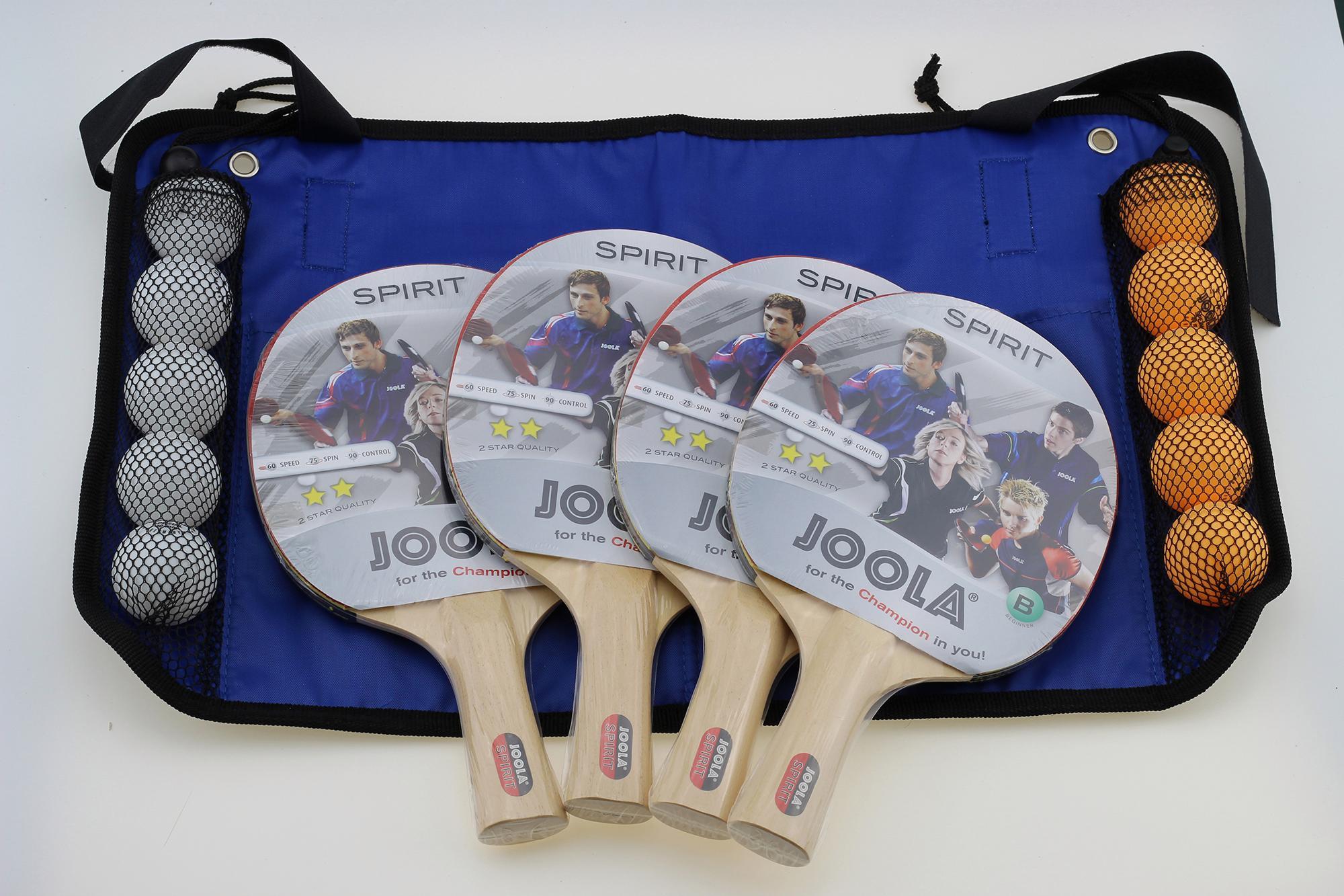 Joola Tischtennisschläger Family Set (Set) Technik & Freizeit/Sport & Freizeit/Sportarten/Tischtennis/Tischtennis-Ausrüstung