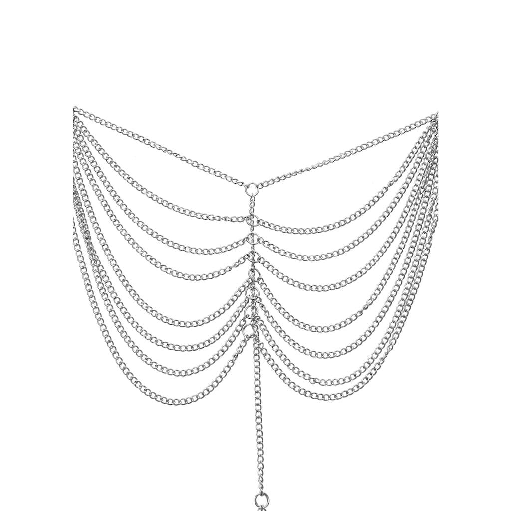 LASCANA Fußkette, mehrreihig, auffallende Fußkette mit Zehenring