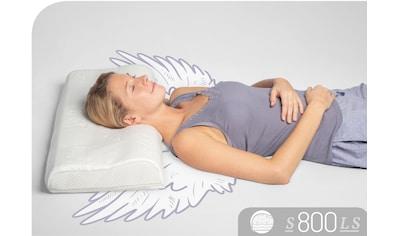 Nackenstützkissen, »S800 LS«, Schlafstil, Füllung: Talalay Natur Latex Soft, Bezug: Polyester & Tencel kaufen