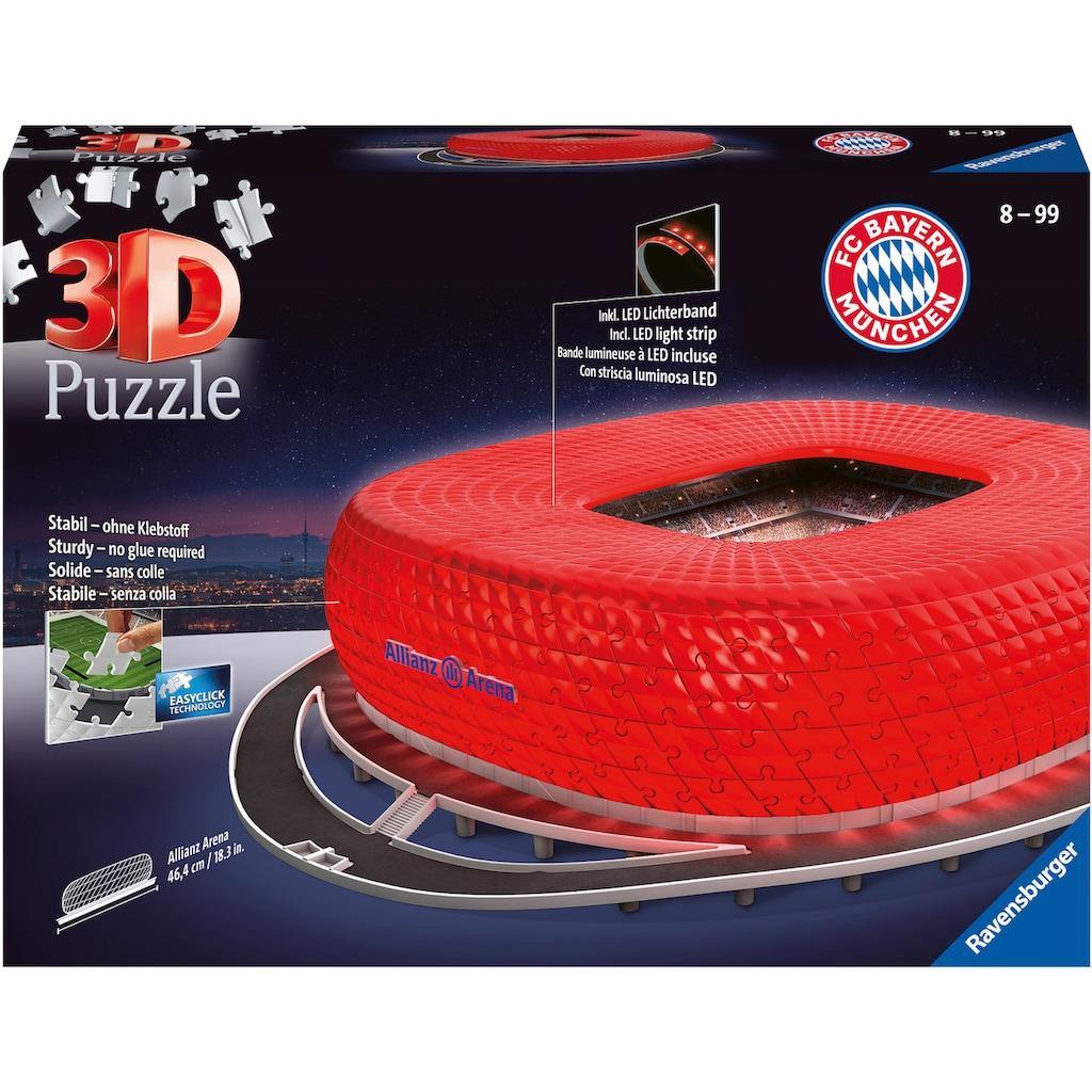 "Ravensburger 3D-Puzzle ""Allianz Arena Night Edition"""