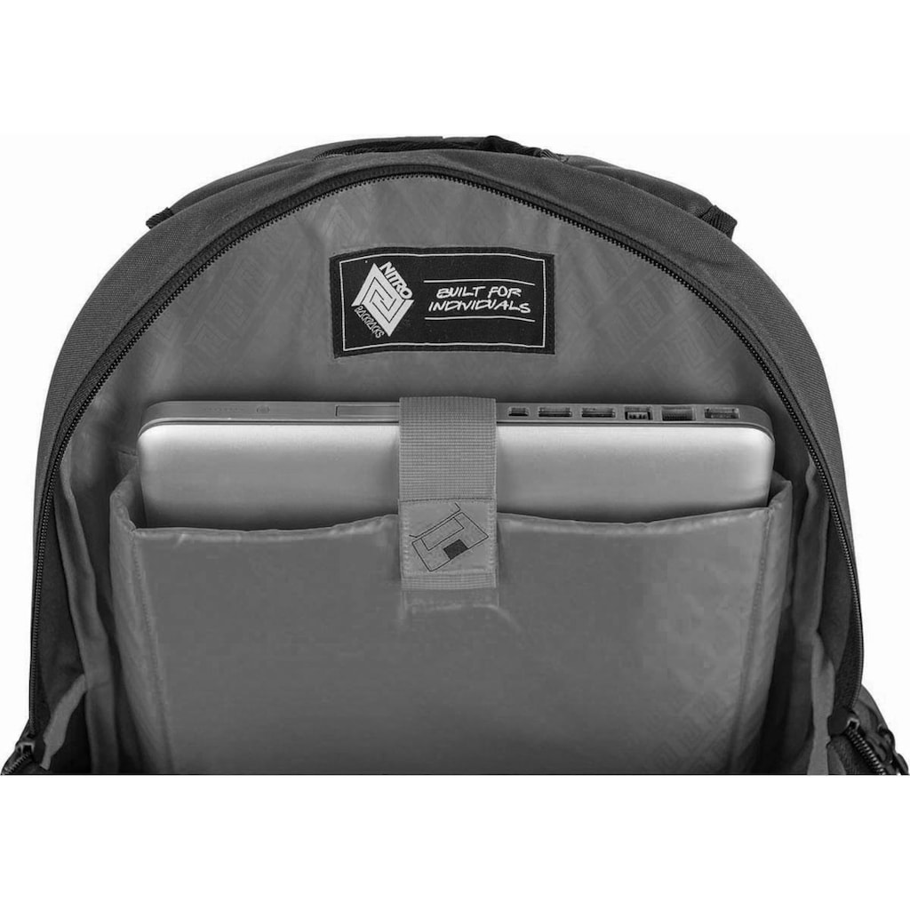 NITRO Schulrucksack »Hero, Canyon«, mit Laptopfach
