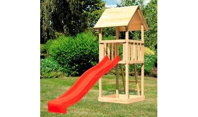 ABUKI Spielturm »Rosie«, BxTxH: 107x107x291 cm, mit Sandkasten, Rutsche, Leiter kaufen